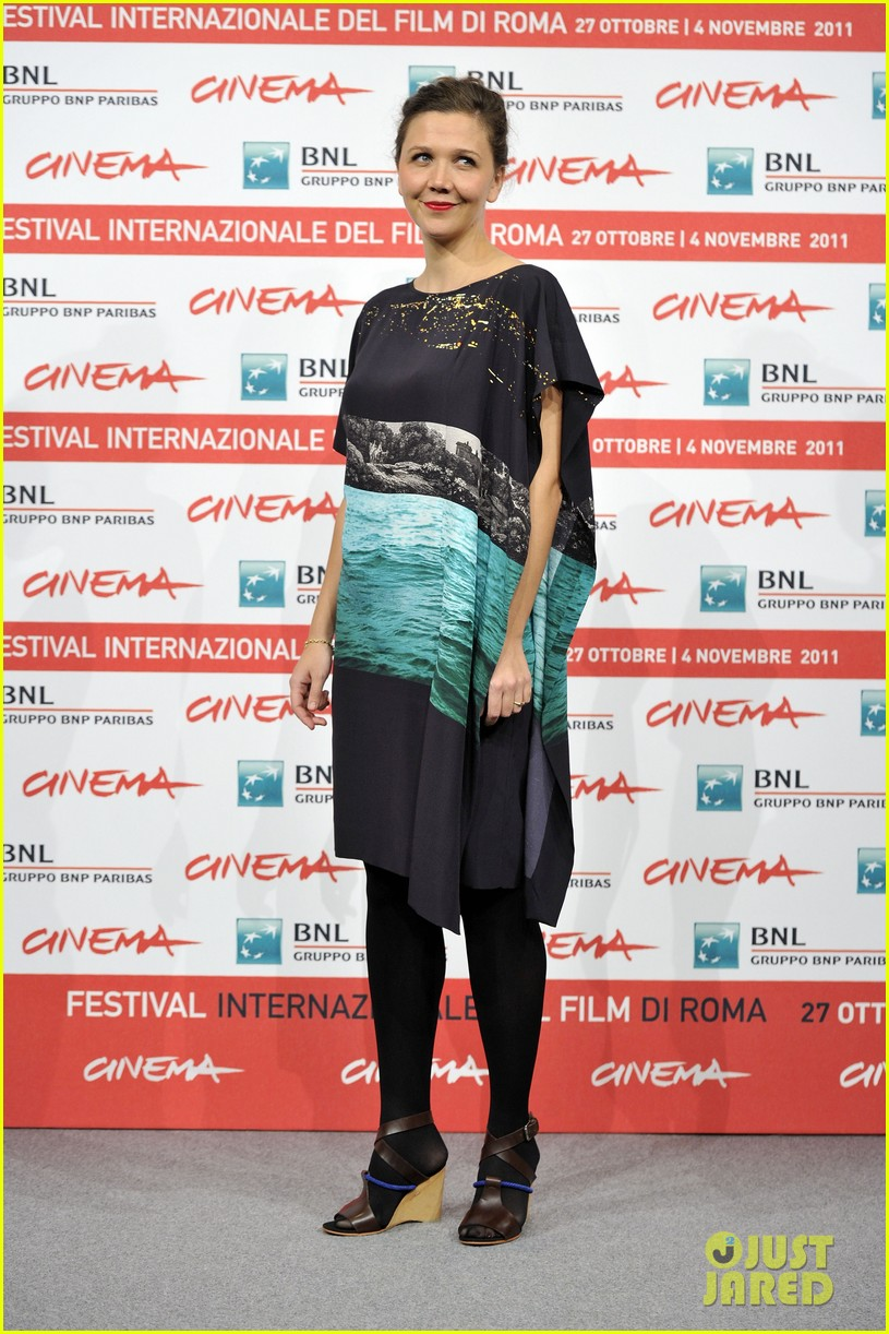 maggie gyllenhaal italy hysteria premiere 072594668