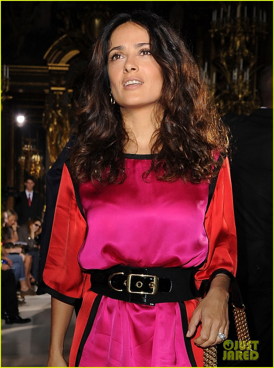 salma hayek francois henri pinault stella mccartney paris fashion week 102586311