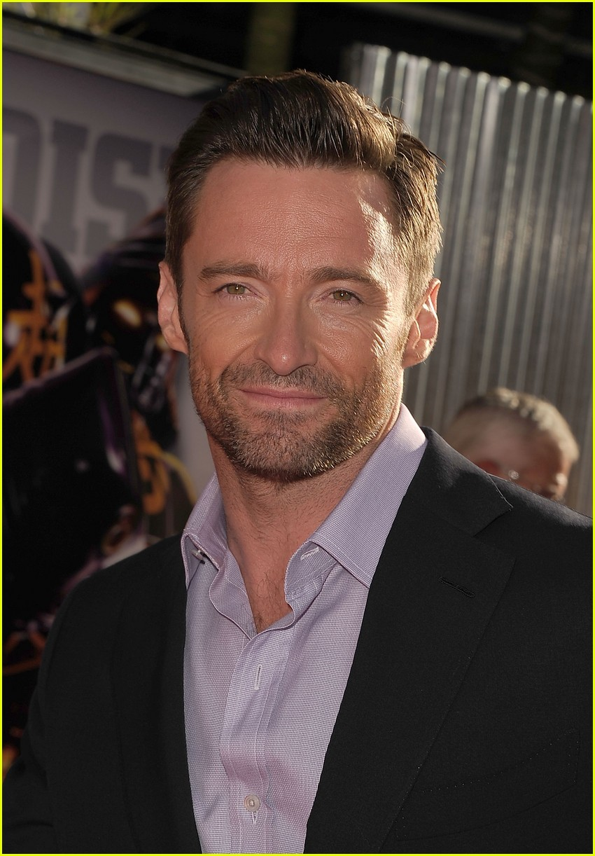 hugh jackman real steel universal city premiere 012586226