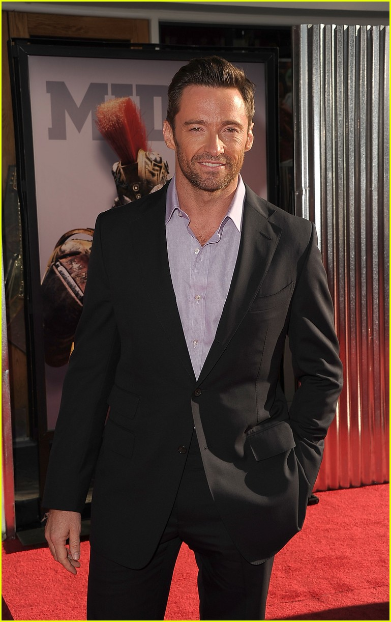 hugh jackman real steel universal city premiere 052586230