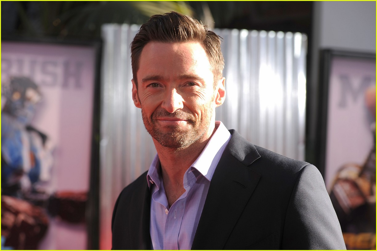 hugh jackman real steel universal city premiere 072586232