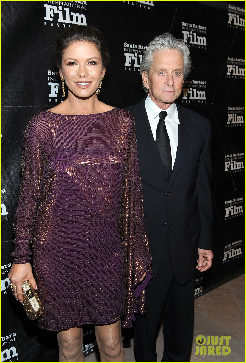 catherine zeta jones michael douglas sbiff 082589774