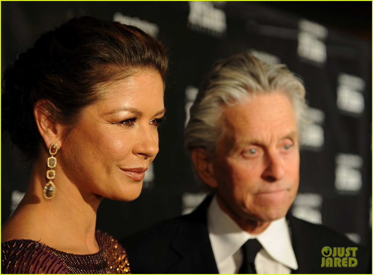 catherine zeta jones michael douglas sbiff 112589777