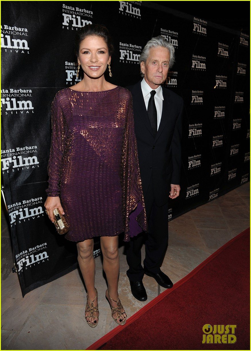 catherine zeta jones michael douglas sbiff 132589779