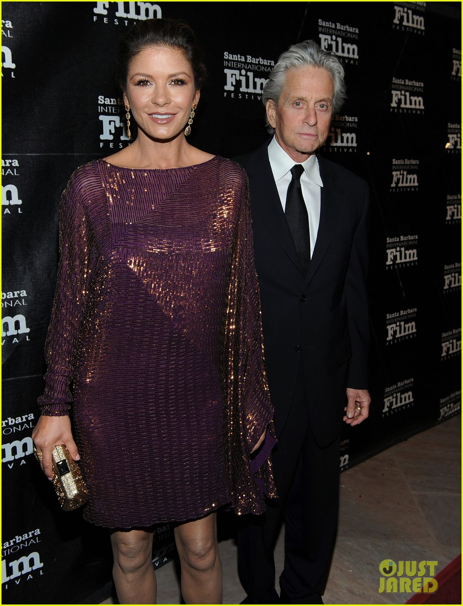 catherine zeta jones michael douglas sbiff 15