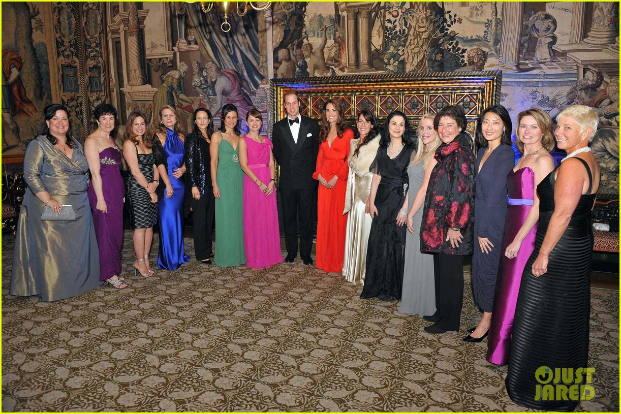 prince william kate charity dinner party 042589820