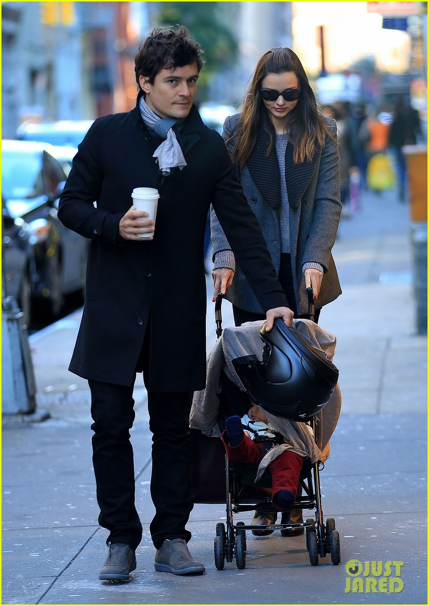 miranda kerr orlando bloom flynn nyc cold 012595272