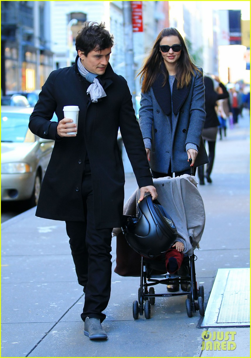 miranda kerr orlando bloom flynn nyc cold 032595274