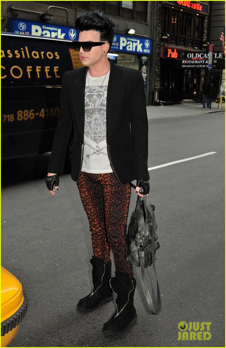 adam lambert leopard pants 01