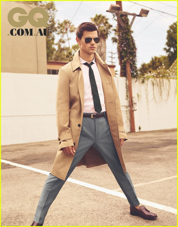 The taylor lautner gq cover