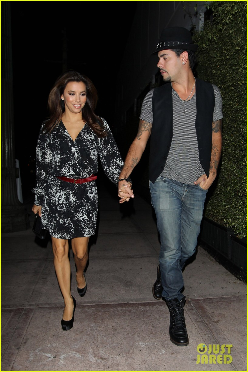 eva longoria eduardo night out 09