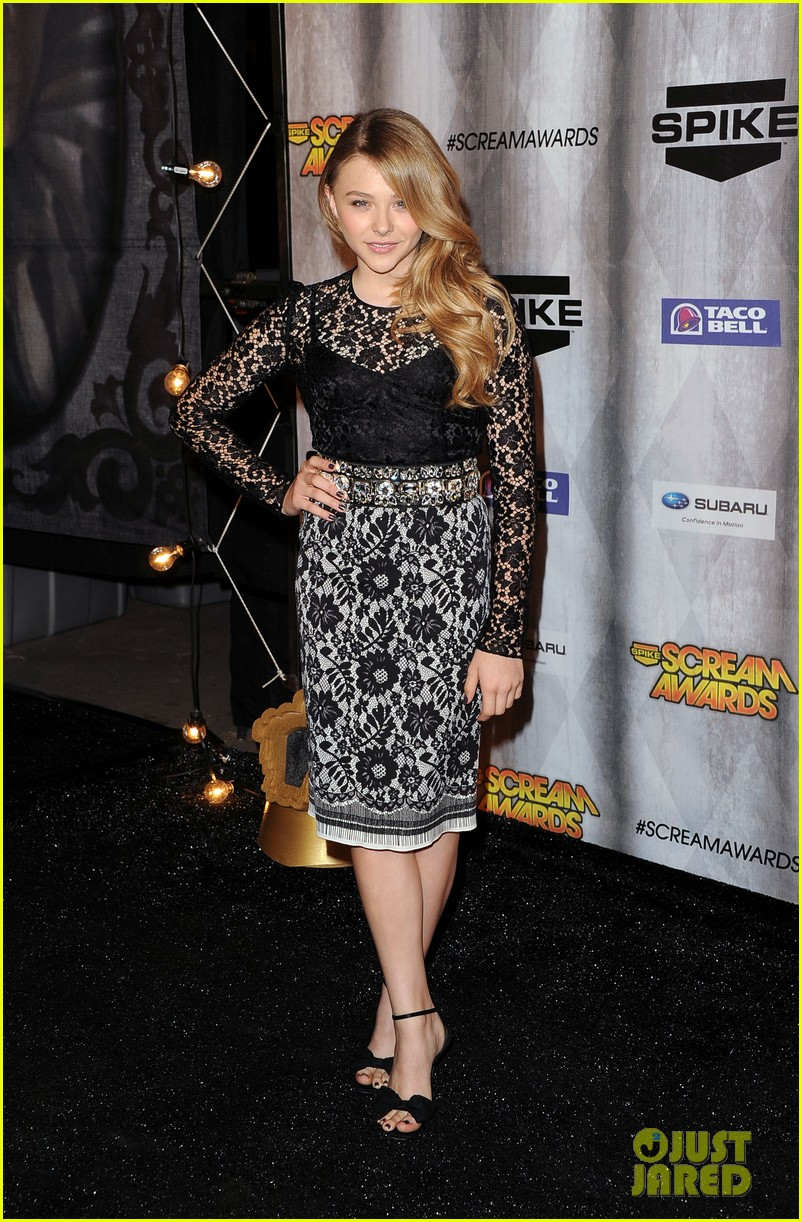 chloe moretz scream awards 2011 062590337