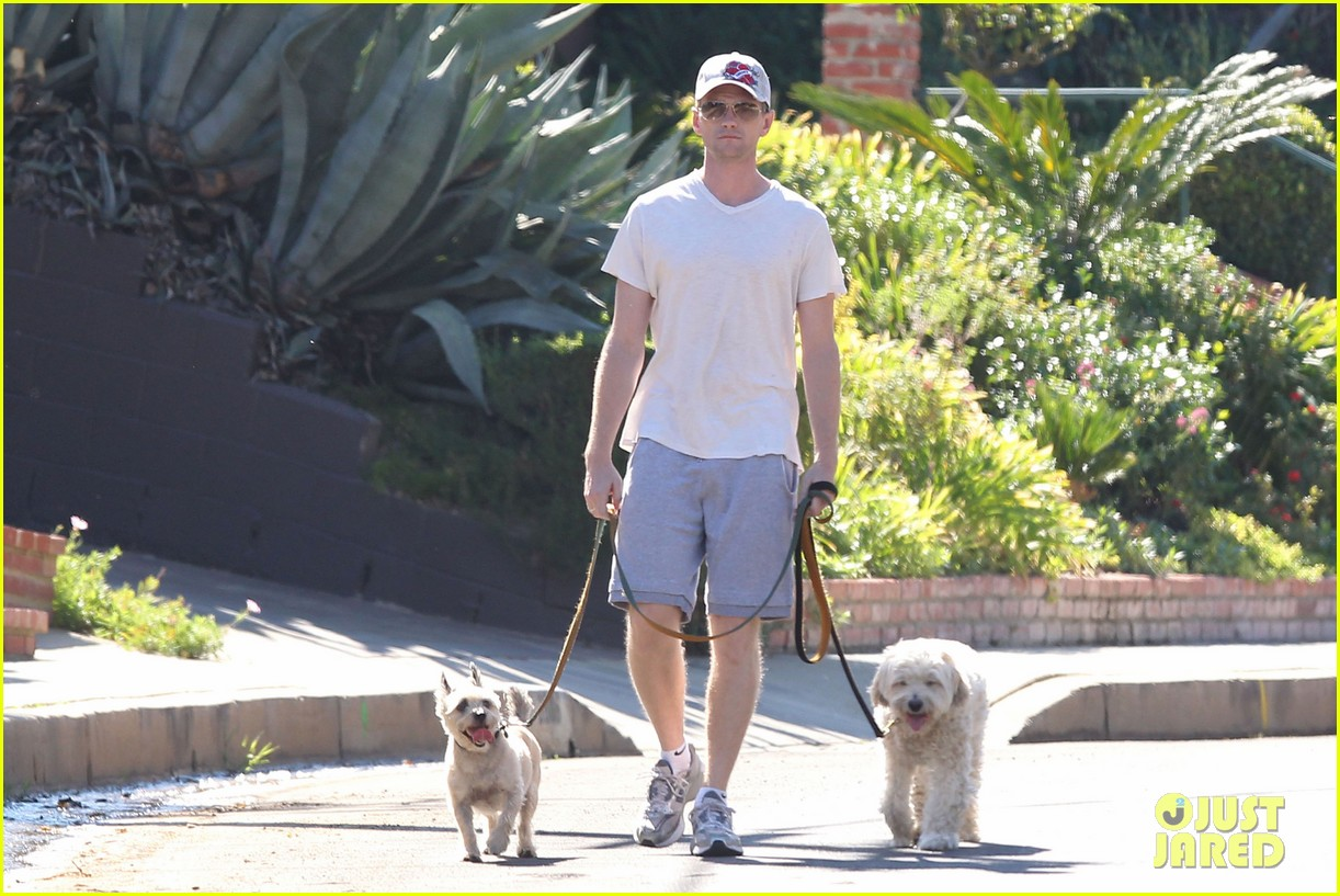 neil patrick harris dog walking 012585963