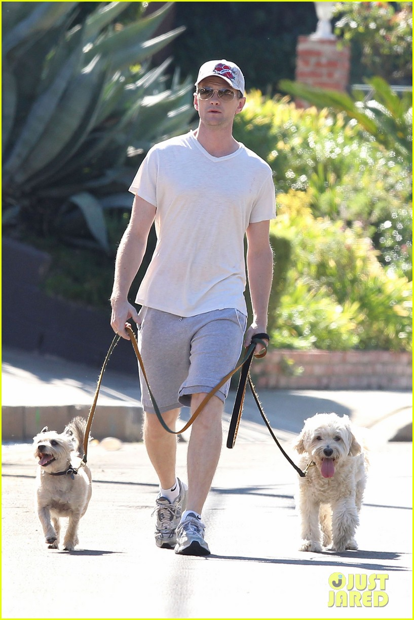 neil patrick harris dog walking 022585964