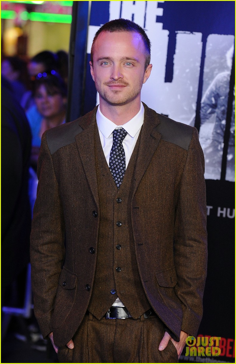 aaron paul thing premiere 052588814