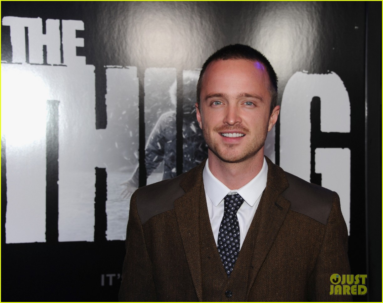 aaron paul thing premiere 06