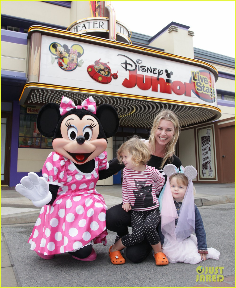 rebecca romijn charlie dolly minnie mouse 032592465