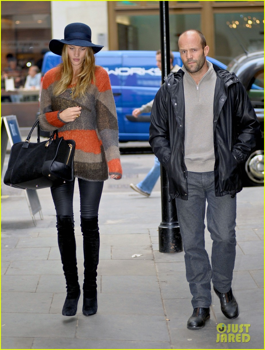 rosie huntington whiteley jason statham london 04