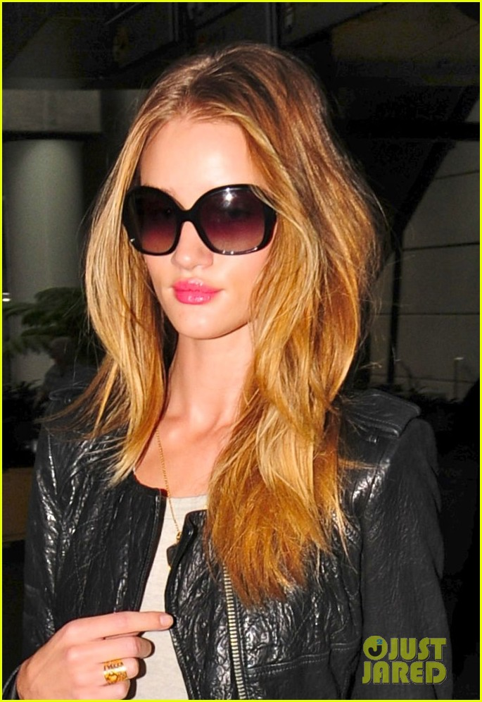 rosie huntington whiteley lax orange purse 03