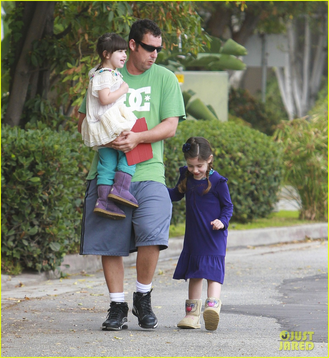 Adam Sandler: Gym with Sunny & Sadie!: Photo 2592745   Adam