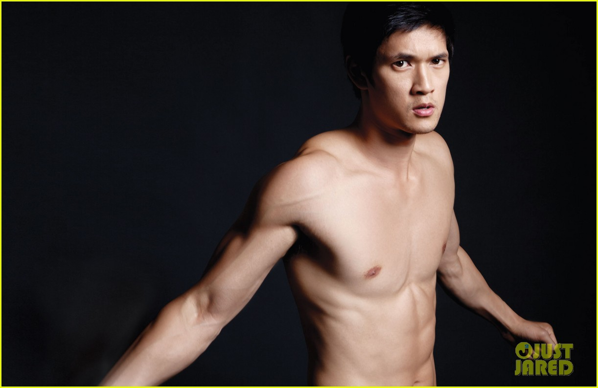 harry shum jr shirtless for da man magazine photo