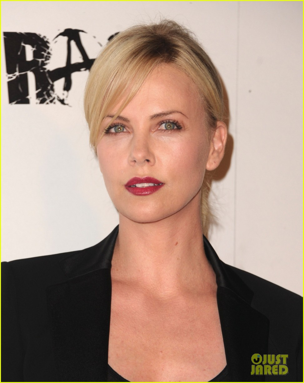 charlize theron stacy keibler rage launch party 092585632