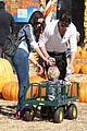 robin thicke paula patton pumpkin patch with julian 02