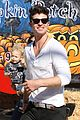 robin thicke paula patton pumpkin patch with julian 10