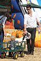 robin thicke paula patton pumpkin patch with julian 12
