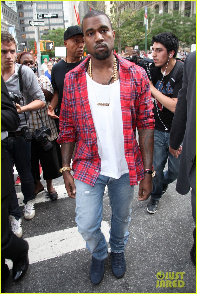 kanye west occupy wallst 012588661