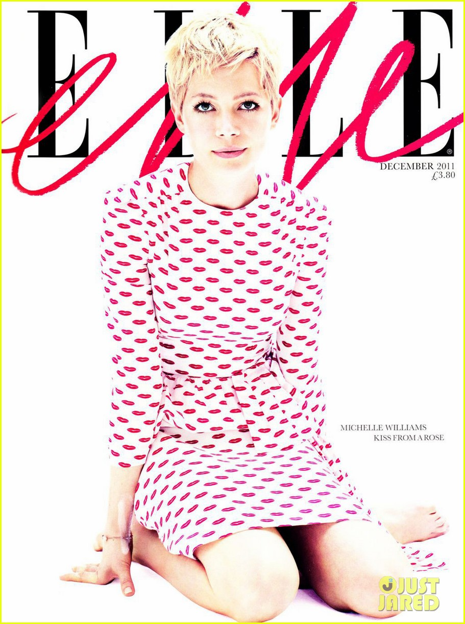 michelle williams elle uk