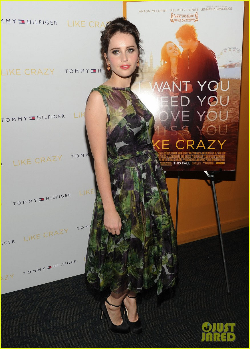 anton yelchin like crazy new york premiere with felicity jones 012591389