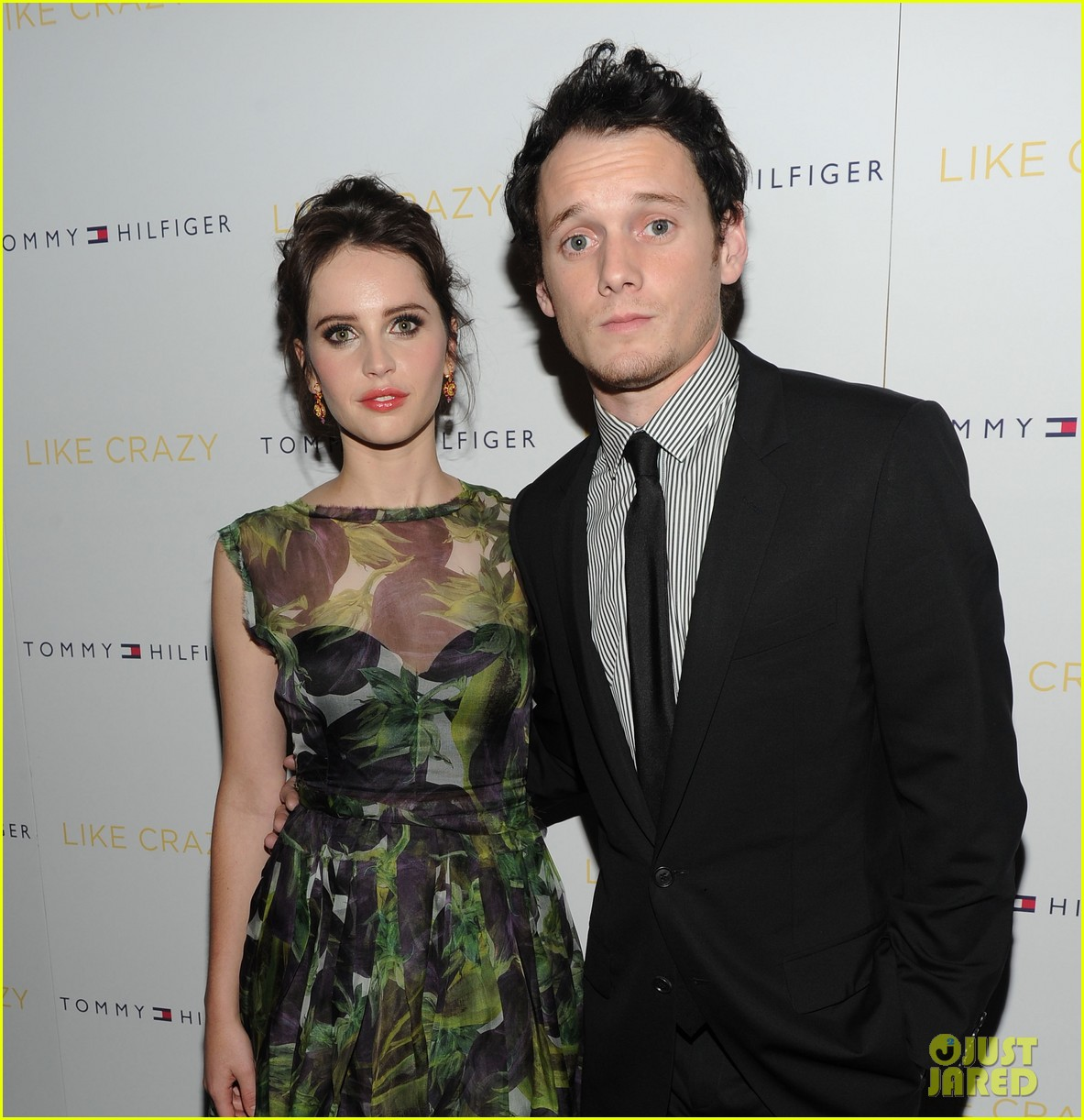 anton yelchin like crazy new york premiere with felicity jones 022591390