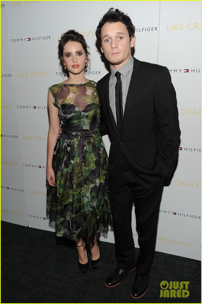 anton yelchin like crazy new york premiere with felicity jones 032591391