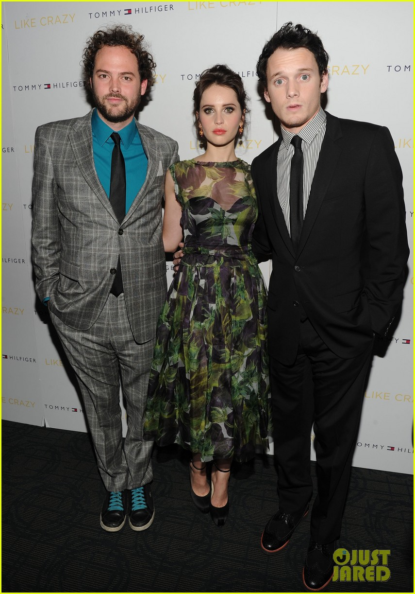 anton yelchin like crazy new york premiere with felicity jones 042591392