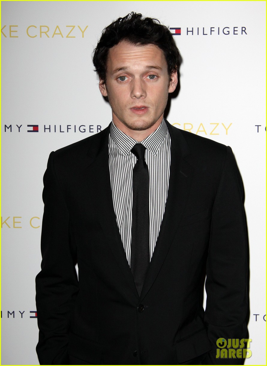 anton yelchin like crazy new york premiere with felicity jones 122591400