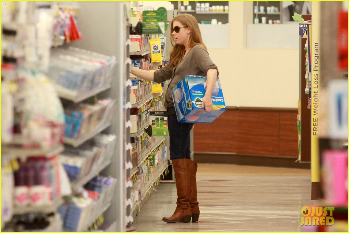 amy adams lunch errands with family 142604482