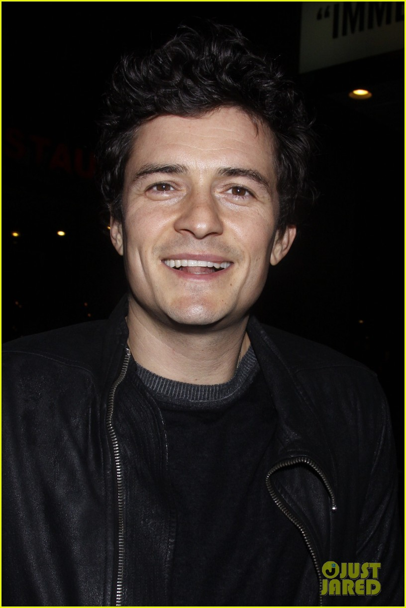 orlando bloom kisses for flynn 12