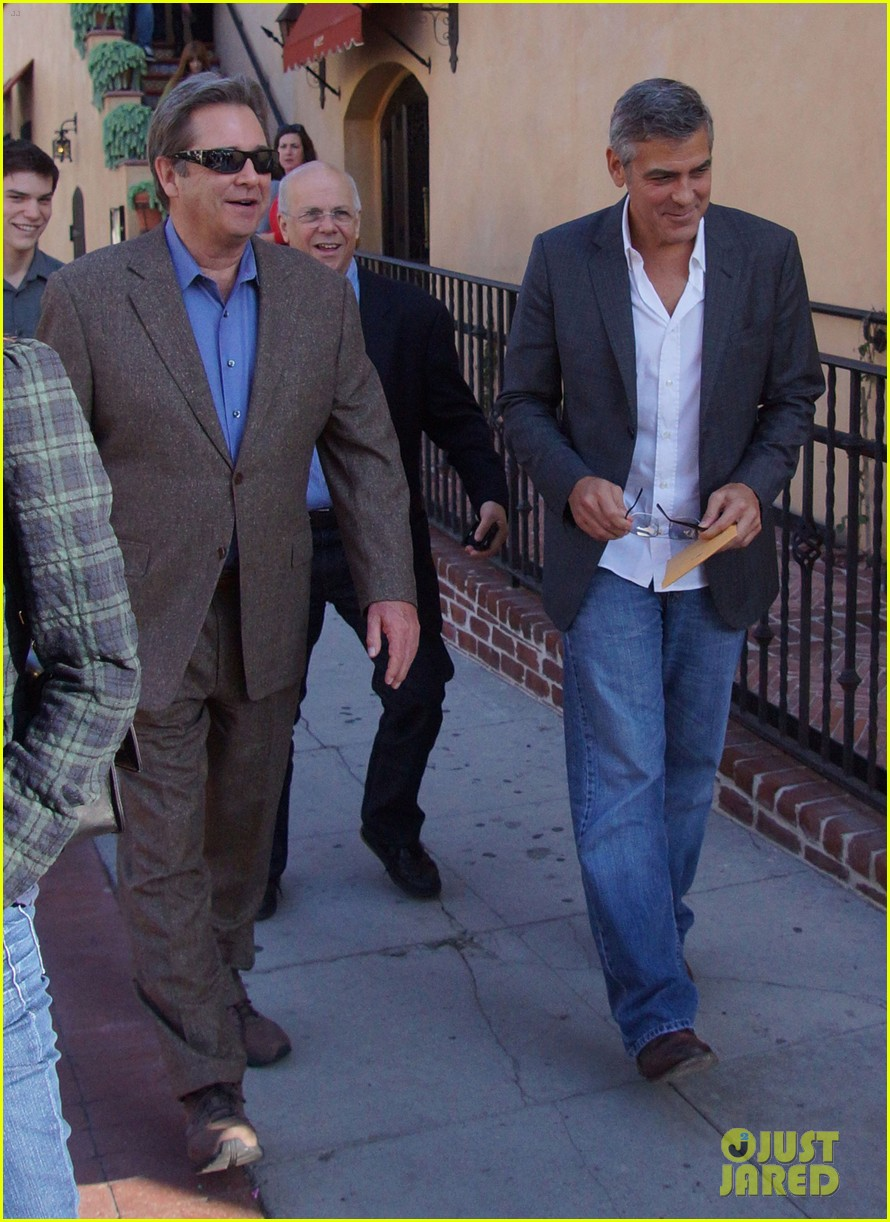 george clooney beau bridges lunch 022601227