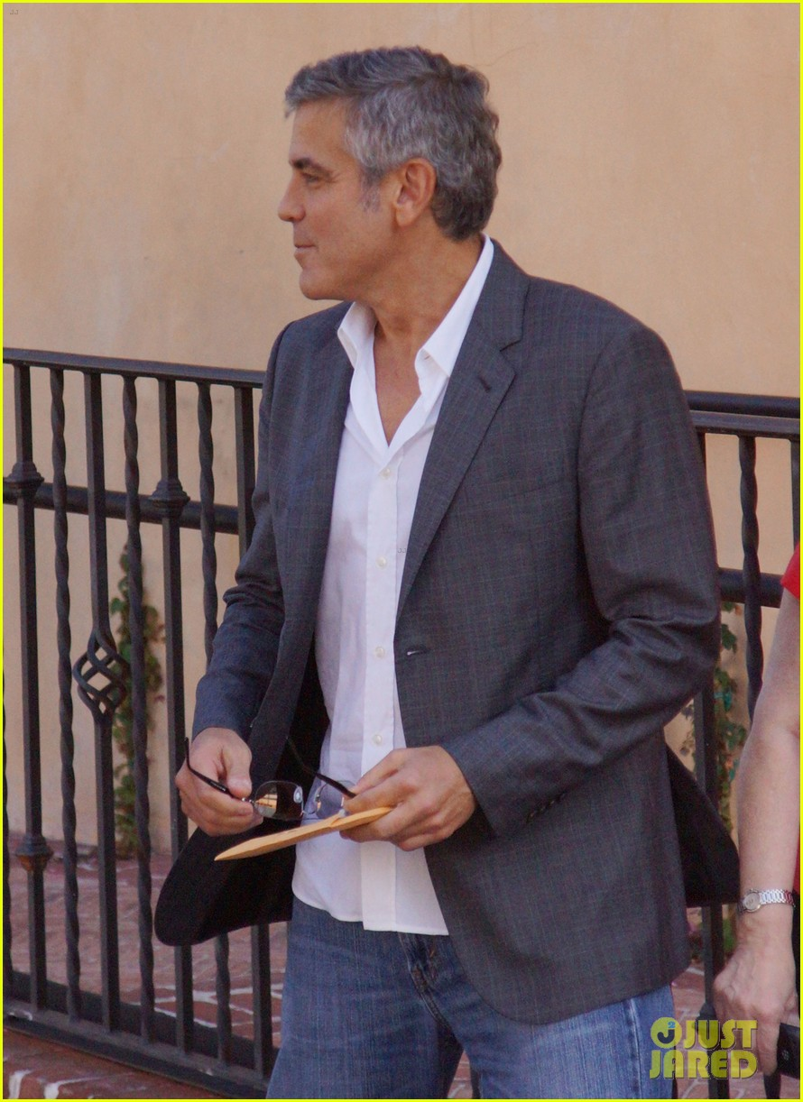 george clooney beau bridges lunch 062601231