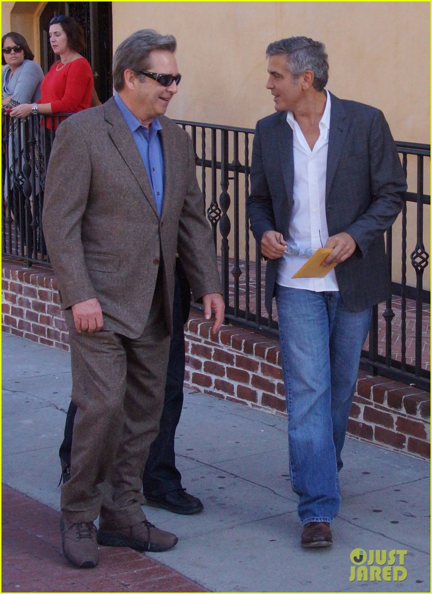 george clooney beau bridges lunch 07