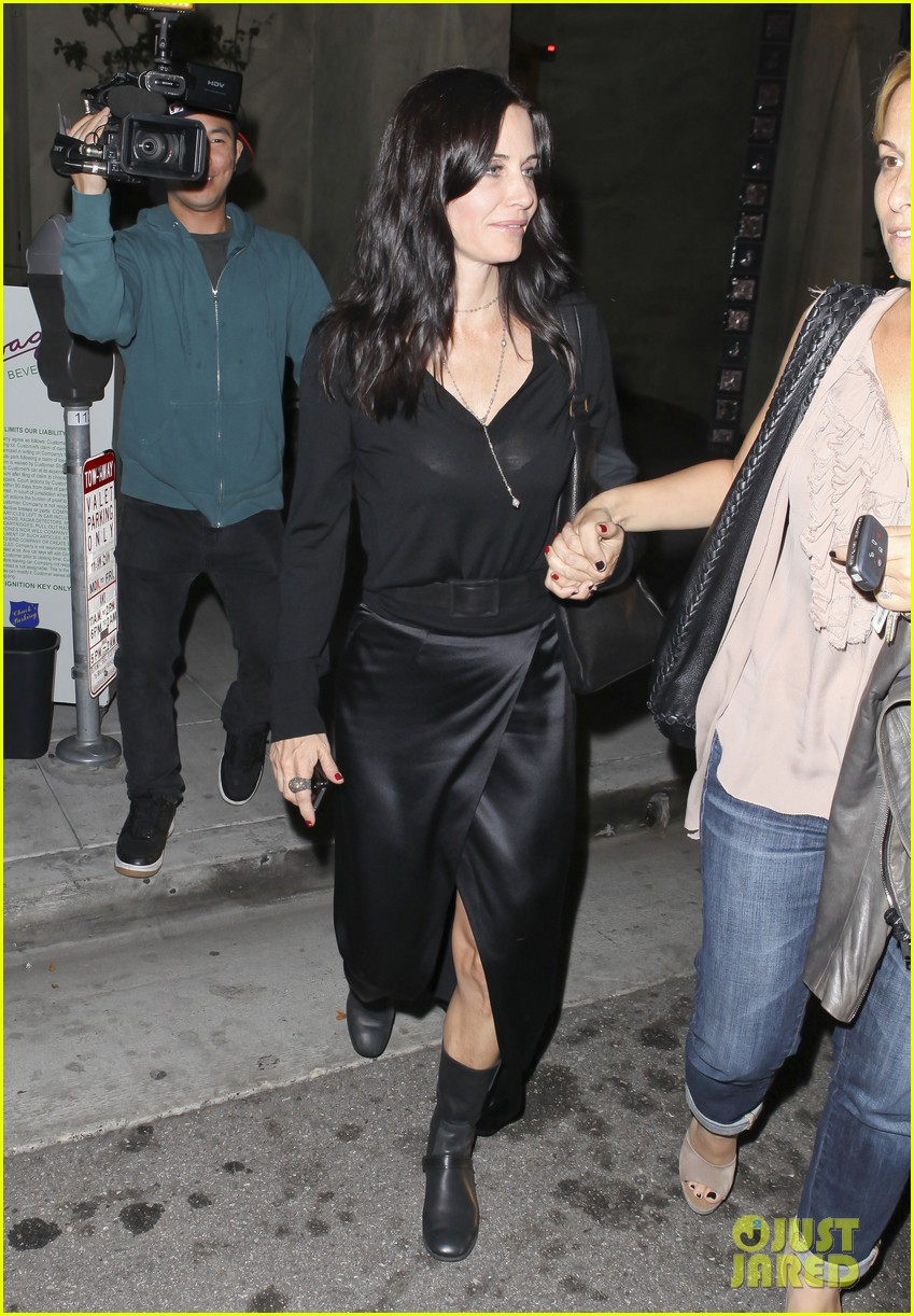 courteney cox out to dinner 03