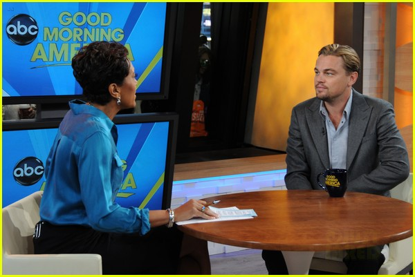 leonardo dicaprio good morning america 03