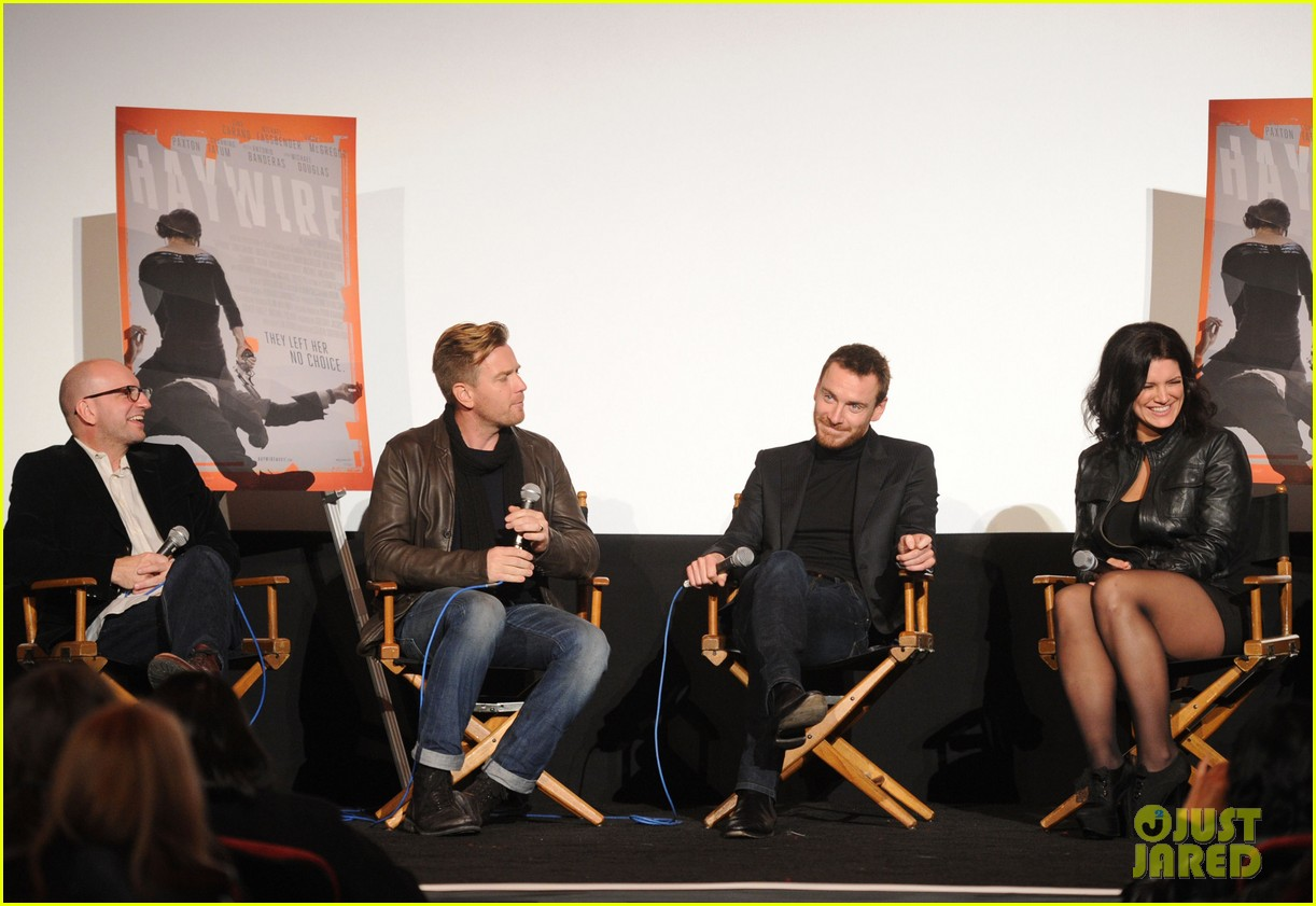 michael fassbender ewan mcgregor haywire screening 092597625