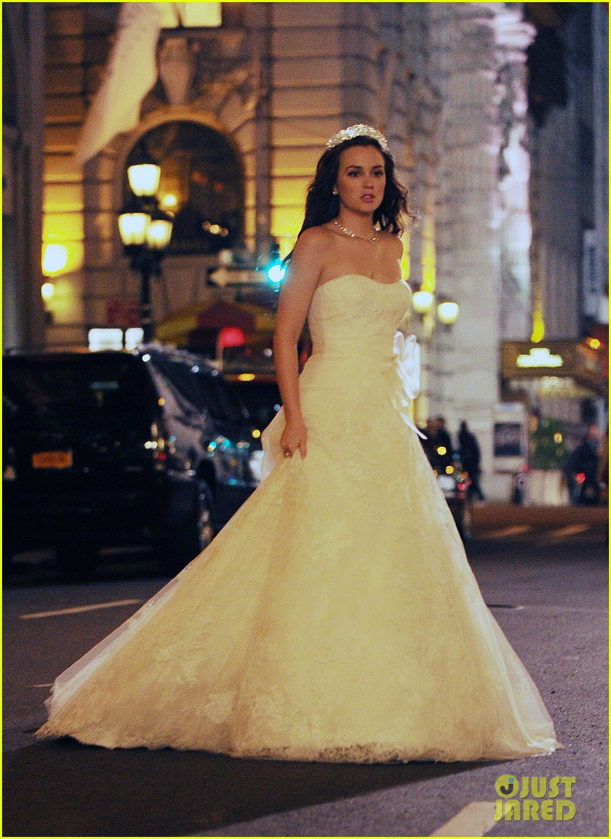 leighton meester gossp girl wedding 07