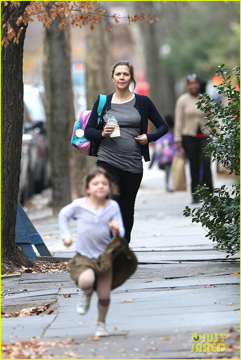 maggie gyllenhaal after school walk with ramona 022604794