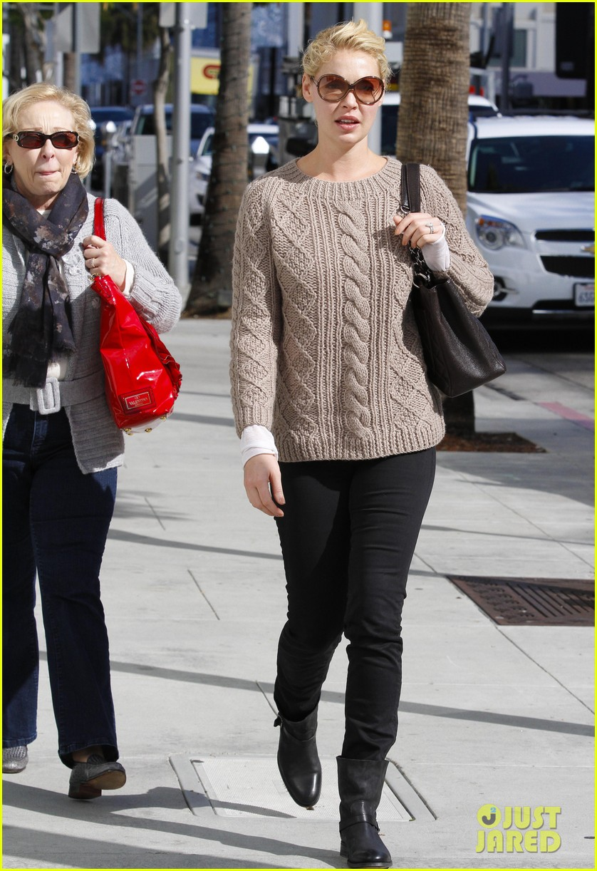 katherine heigl shopping mom dad 08