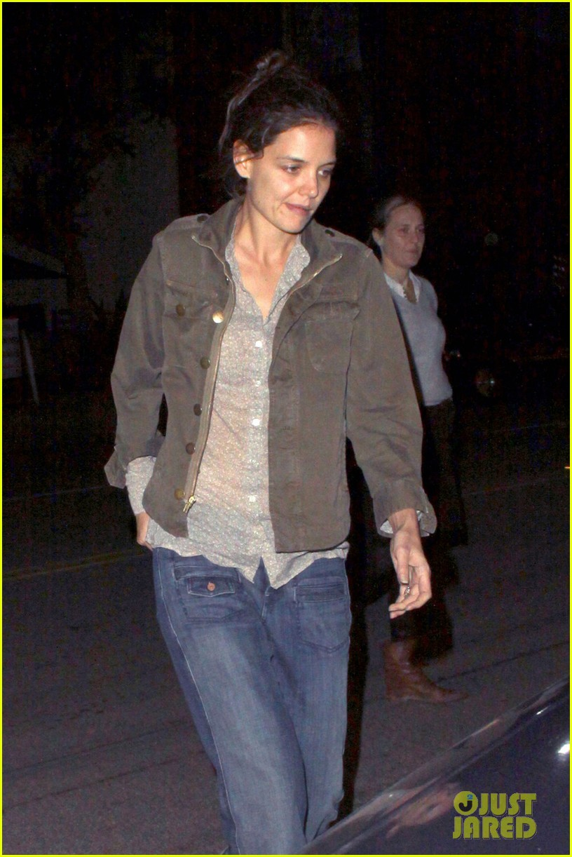 katie holmes night out friend west hollywood 03