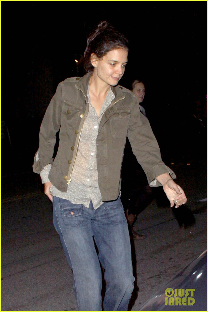 katie holmes night out friend west hollywood 042605180