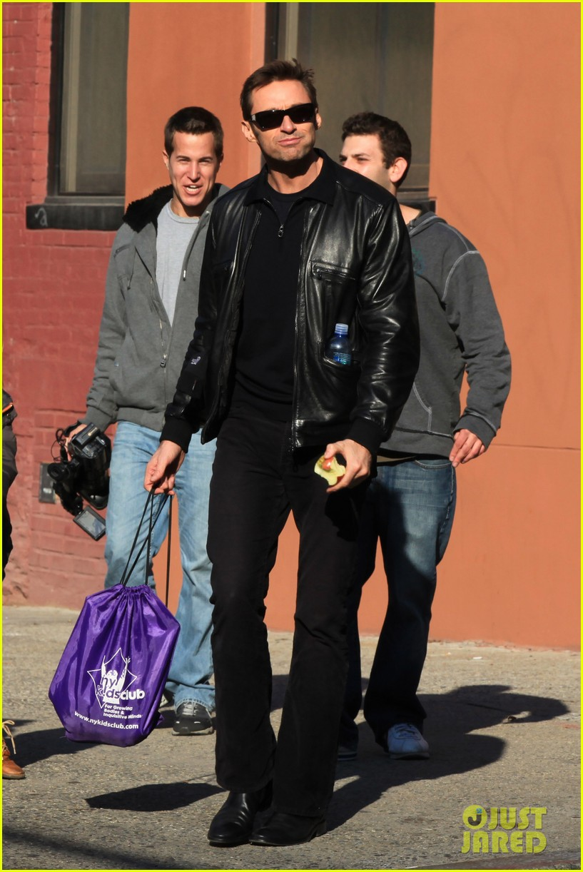 hugh jackman deborra lee furness day out with ava 032596288